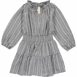Willow Dress Charcoal 7