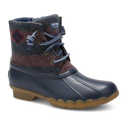 Saltwater Boot Navy 13