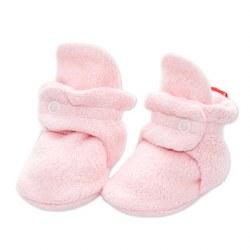 Cozie Fleece Bootie Baby Pink 3m
