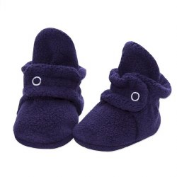 Cozie Fleece Bootie Navy 3m