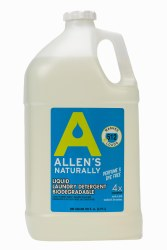 Liquid Laundry Detergent Gallon