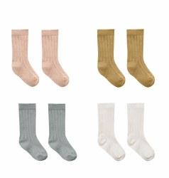 Baby Socks 4pk 6-12m