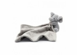 Bashful Grey Elephant Soother