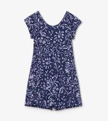 Batik Faux Dress Romper 6