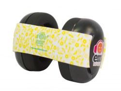 Baby Earmuffs Lemon/Black
