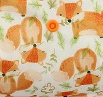 Mattress Pad Red Fox