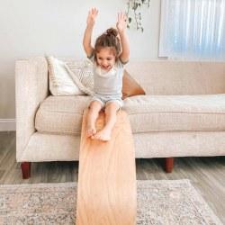 Honey Maple Wobble Board - Pickup Only