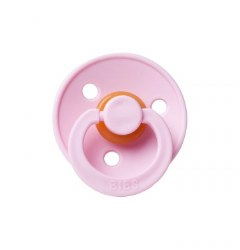 Bibs Paci Size 1 Pink/Woodchuck