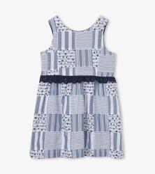 Blue Madras Dress 3T