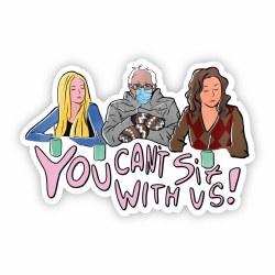 Mean Girls Bernie Sticker