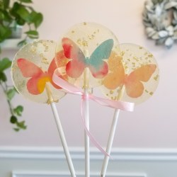 Butterfly Spring Lollipop