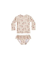 Cherries Rashguard Set 2-3y