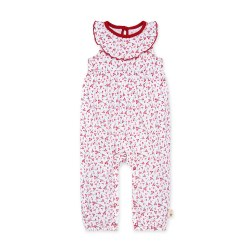 Cherry Bunches Jumpsuit 3-6m