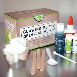 Glowing Putty, Gels and Slime