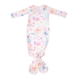Newborn Knotted Gown Bloom