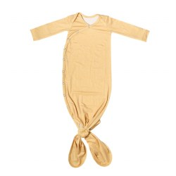 Newborn Knotted Gown Marigold