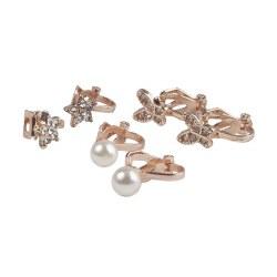 Dazzle Clip On Earings