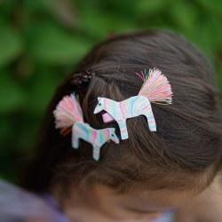 Diva Zebra Hairclip