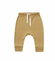 Drawstring Pant Gold 3-6m