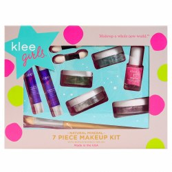Far and Wide 7pc Natural Mineral Makeup Play Kit