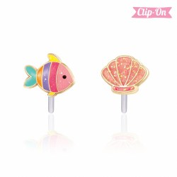 Perfect Pair Clip-On Earings Under the Sea