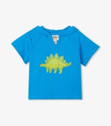 Green Dino Pullover Hoodie 4T