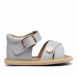 Grey Baby Sandal 6-9m