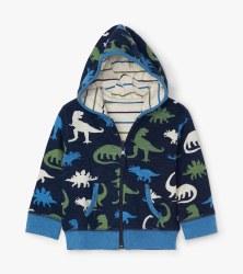 Dinos Baby Hoodie 3-6m