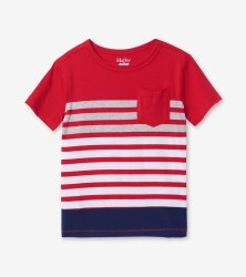 Sunset Stripe Tee 2