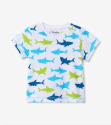 Great White Sharks Tee 12-18m