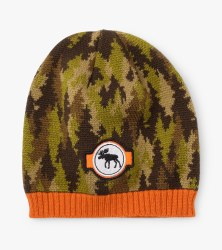 Forest Camo Winter Hat Medium (4-5)