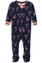Candy Cane Coverall 3-6m
