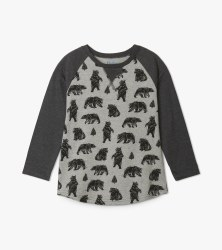 Black Bears Raglan Tee 2