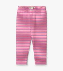 Rose Stripe Leggings 9-12m