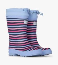 Rainbow Lined Rain Boots 6