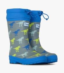 T-Rex Lined Rain Boots 10