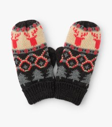 Fair Isle Mittens Medium (4-5)