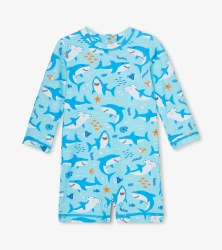 Baby Rash Guard Shark 3-6m