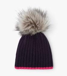 Navy Winter Hat Small (2-3)