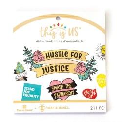 Hustle for Justice Mini Sticker Book