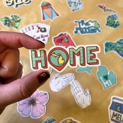 Home Michigan Sticker