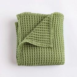 Honeycomb Blanket Sage