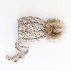 Aspen Oatmeal Bonnet 6-24m