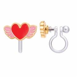 Clip-On Earings Angel Heart
