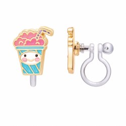 Clip-On Earings Whipped Cream