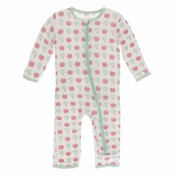 Coveralls Natural Apples 3-6m