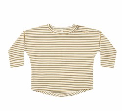 L/S Baby Tee Gold 3-6m