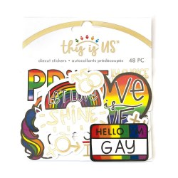 Love is Love Dicut Sticker Set