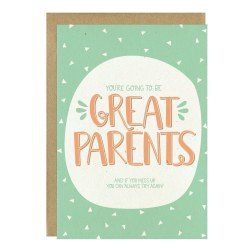 Great Parents Baby Card