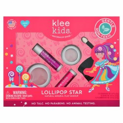 Lollipop Star 4-pc Natural Mineral Play Makeup Kit
